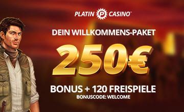 Platin Casino - Gleich beim besten Anbieter anmelden!