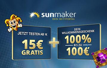 sunmaker bonus code